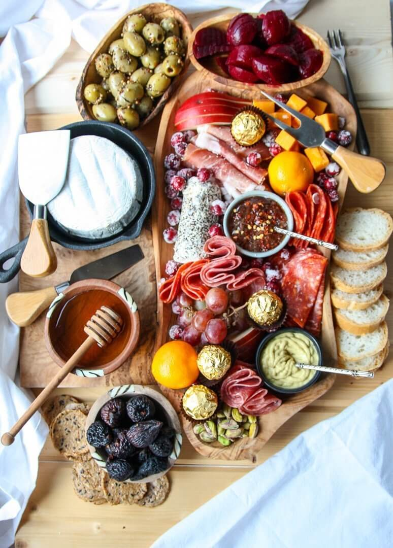 Holiday charcuterie