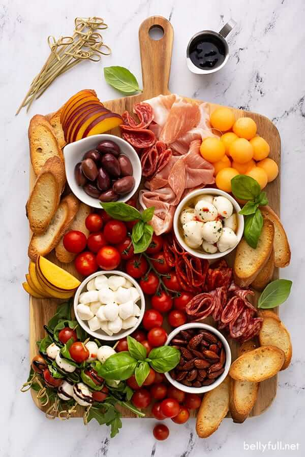 Italian antipasto board