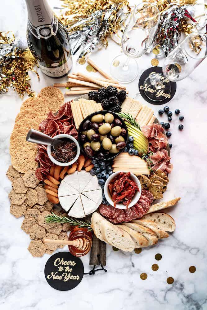 New years eve platter