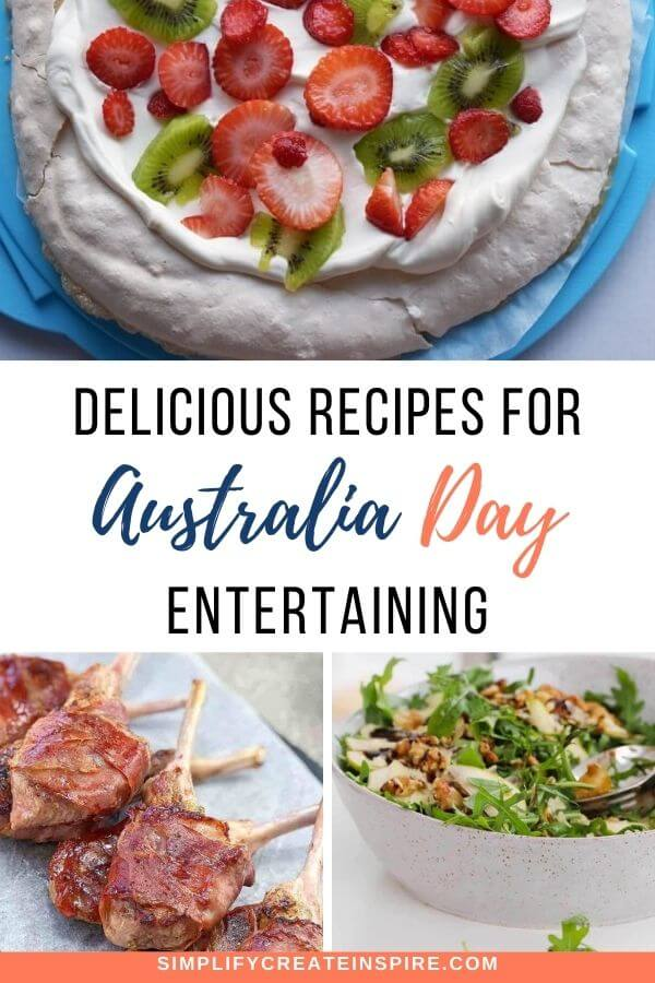 Australia day recipes and food ideas