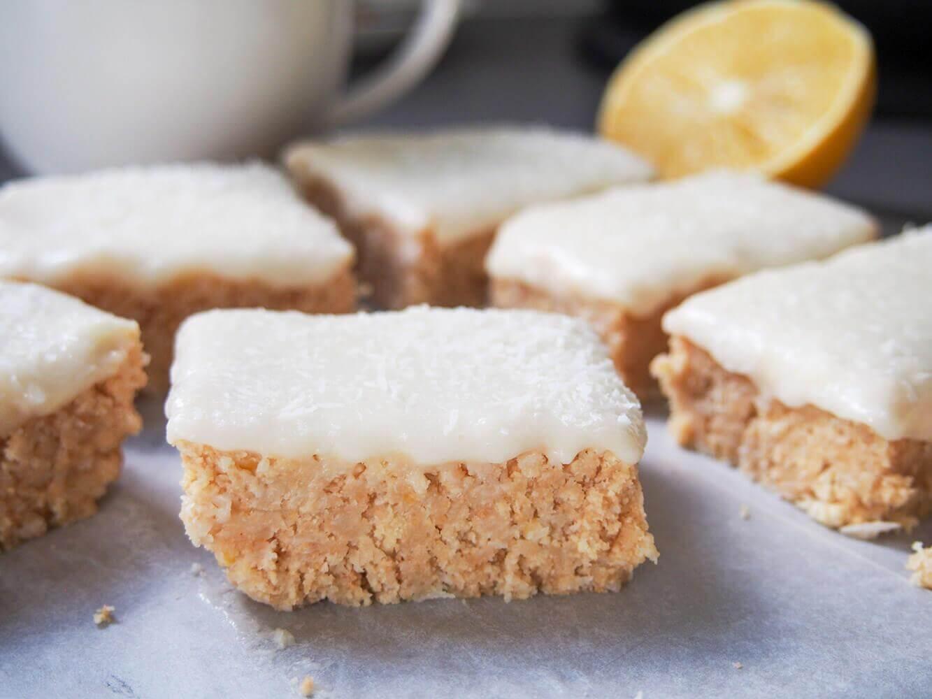 Lemon slice bars