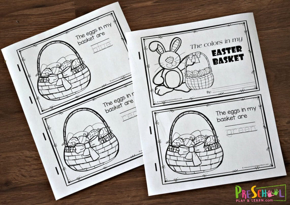 Easter printable activity sheets