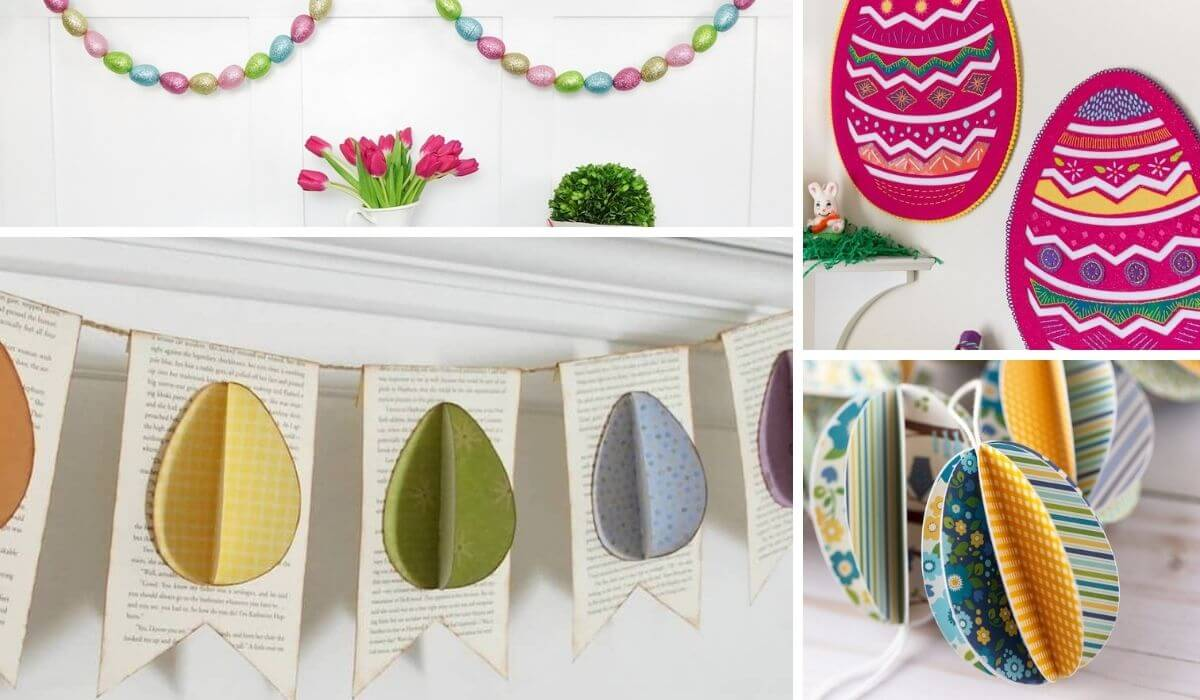 Hanging easter decor for your home