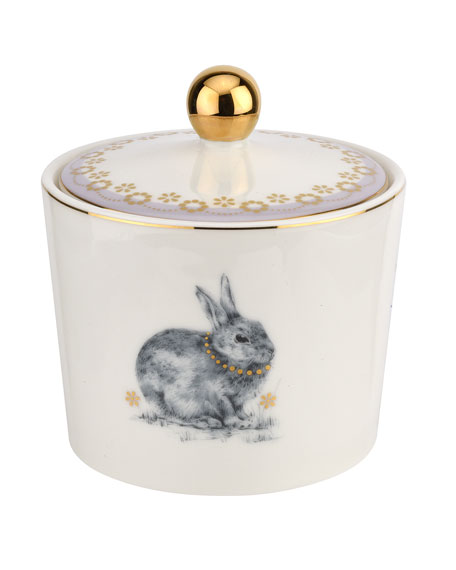 Bunny sugar bowl