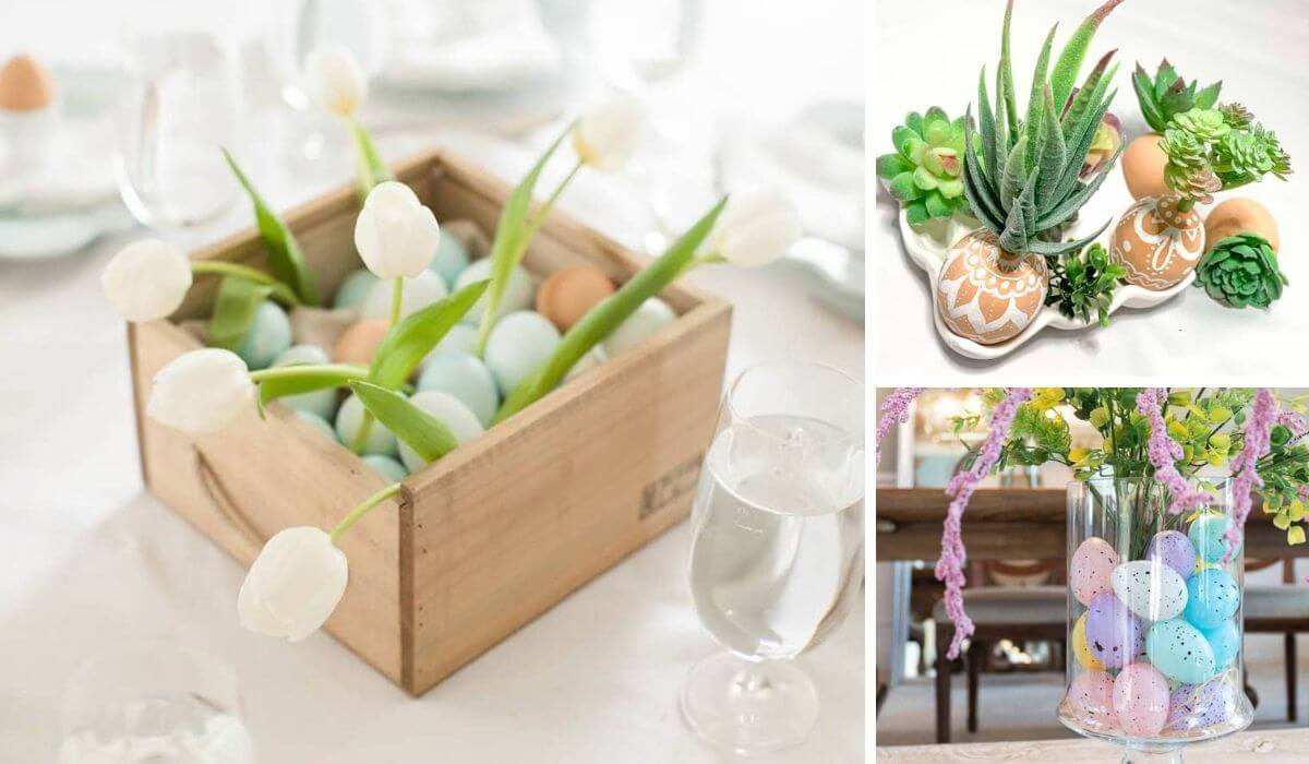 Easter centrepiece ideas