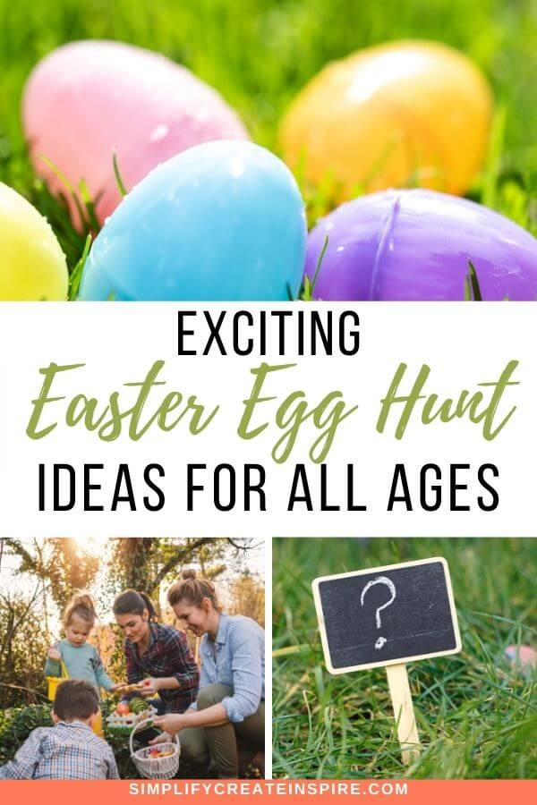 Fun easter egg hunt ideas for kids and adults