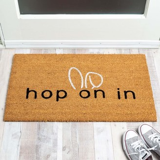 Hop on mat