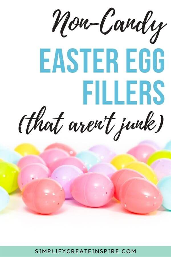 Non-candy easter egg fillers that aren't junk