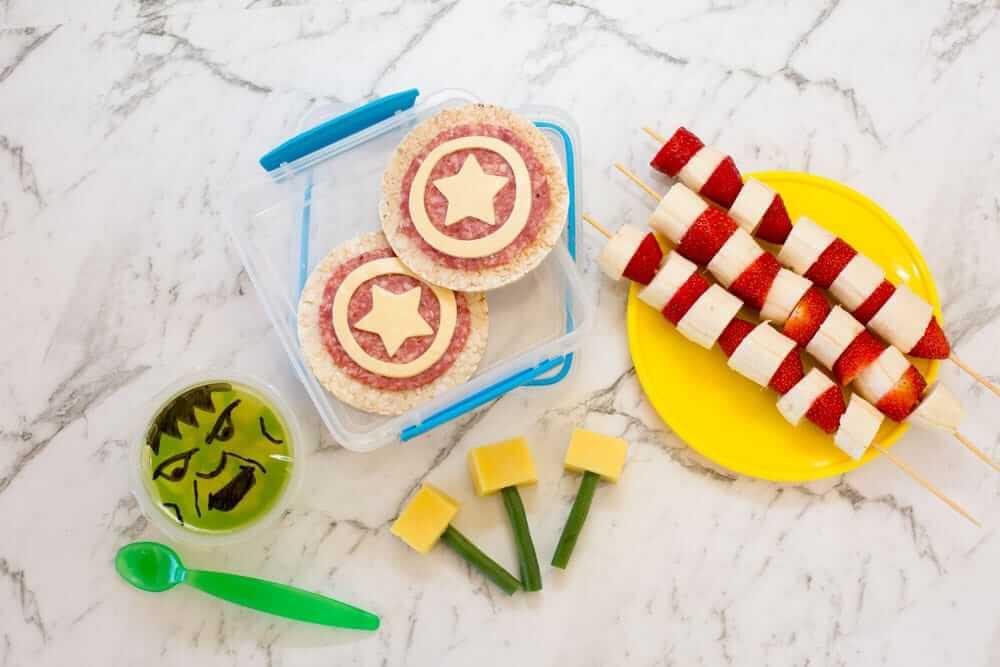 Marvel lunch box ideas