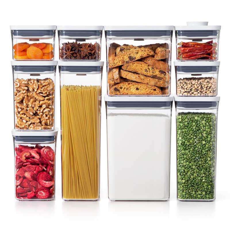 Oxo gg pop 2. 0 10 piece set 485384 1 14 genius pantry organisation ideas - pantry storage solutions & small pantry tips