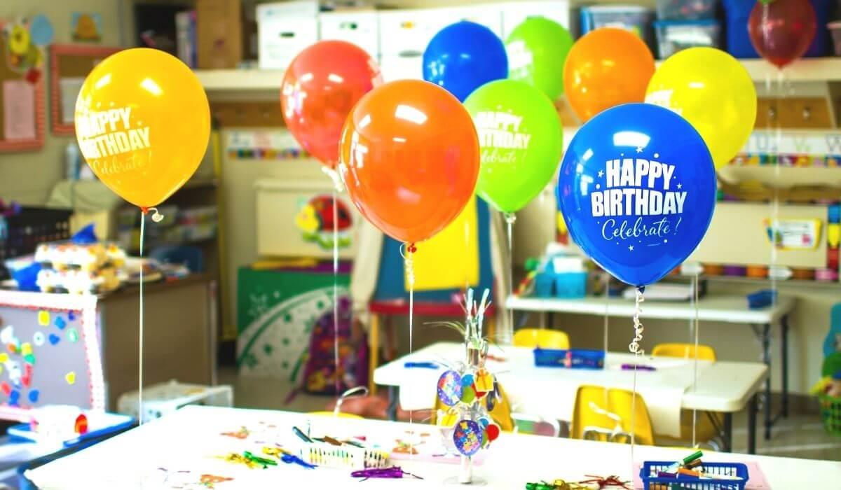Class birthday treat ideas for school