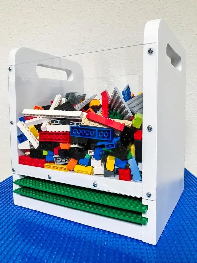 Diy lego bin final 1 vertical. Jpg 1 the best lego storage ideas (plus storage ideas for built sets