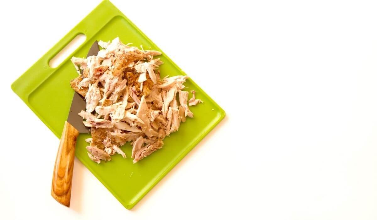 Leftover rotisserie chicken