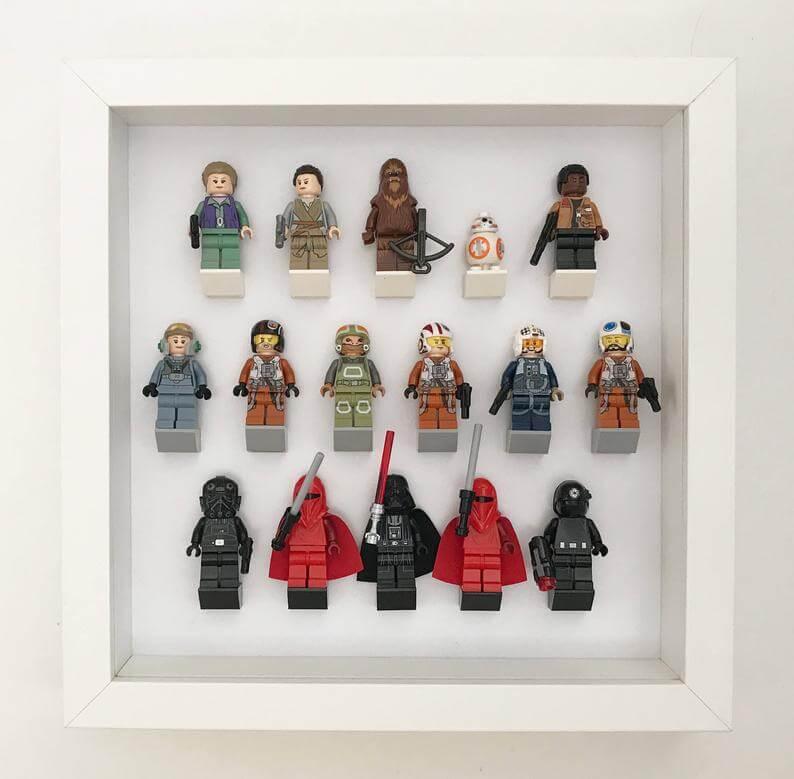 Lego minifigure display square 1 the best lego storage ideas (plus storage ideas for built sets