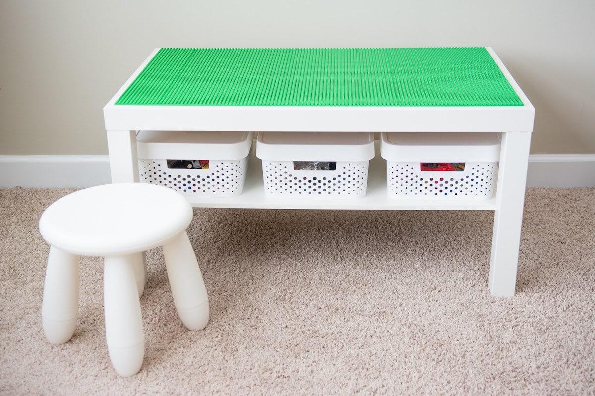 Lego table diy 1 the best lego storage ideas (plus storage ideas for built sets