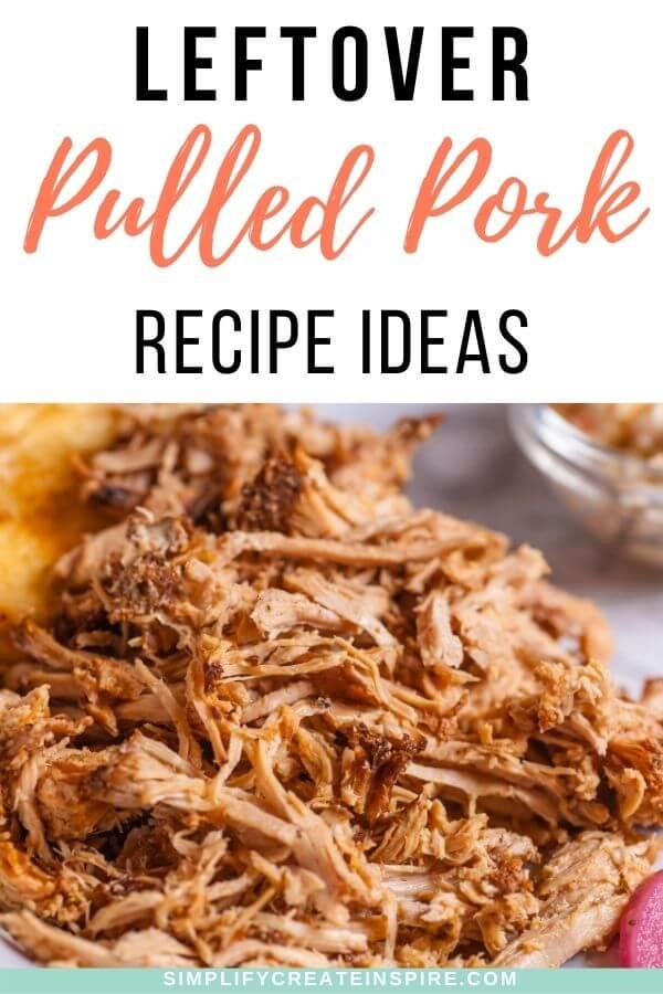 Leftover pulled pork recipe ideas