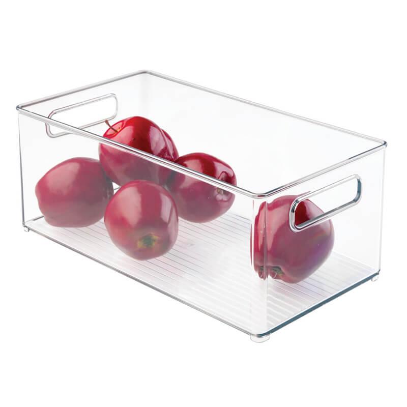 75230 idesign linus fridge freezer binz 8 x 6 deep bin 2 1 easy fridge organisation tips - how to organise your refrigerator