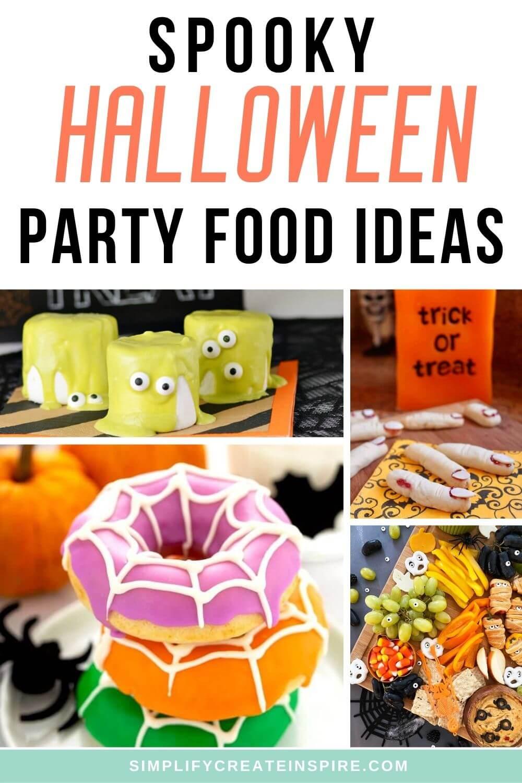 Halloween party finger foods