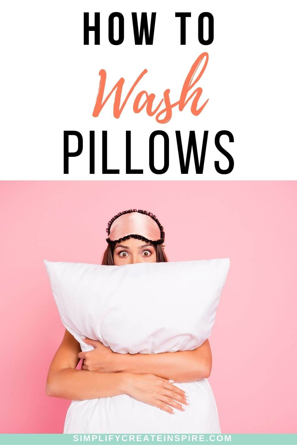 How to wash pillows and cushions