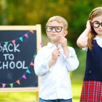 back to school chalkboard photo