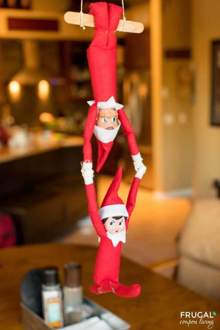 Elf acrobatics