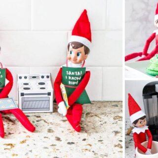 Elves on the shelf ideas for 2 elves
