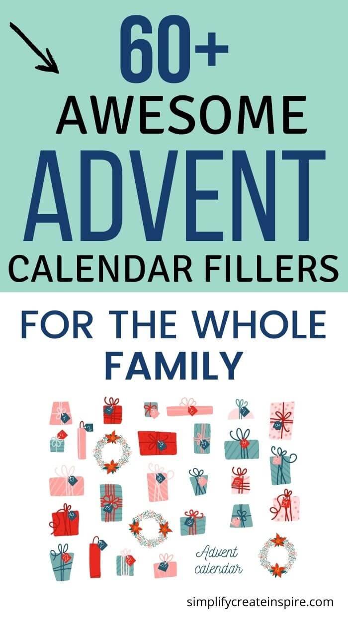 Advent calendar fillers