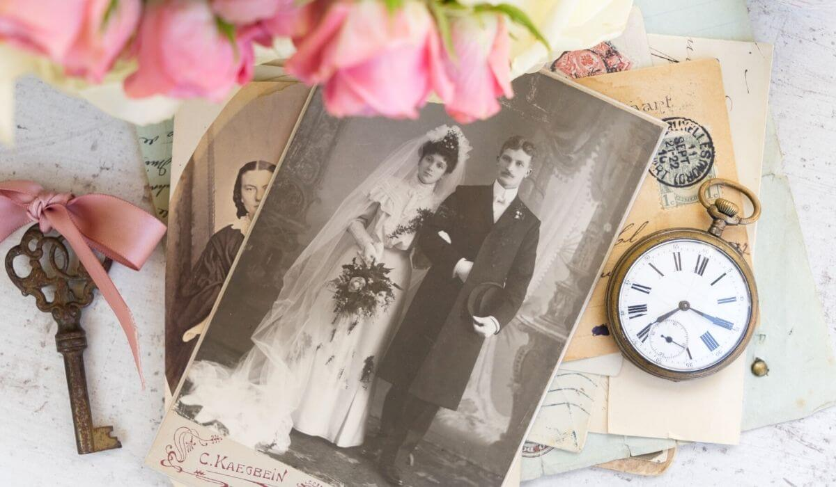 Decluttering sentimental items and photos