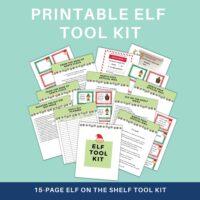 Elf on the shelf tool kit